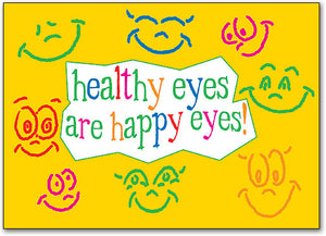 Happy Eyes Postcard