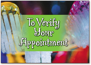 Verify Your Appointment Postcard