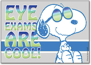 Eye Exams are Cool Postcard
