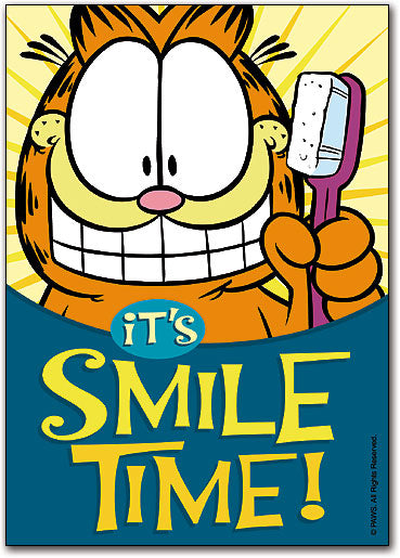 GARFIELD Smile Time Postcard