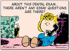 Dental Exam Postcard