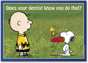 Does Your Dentist Know? Postcard
