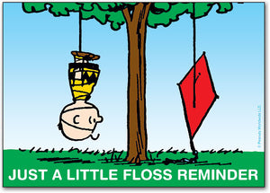 Floss Reminder Postcard