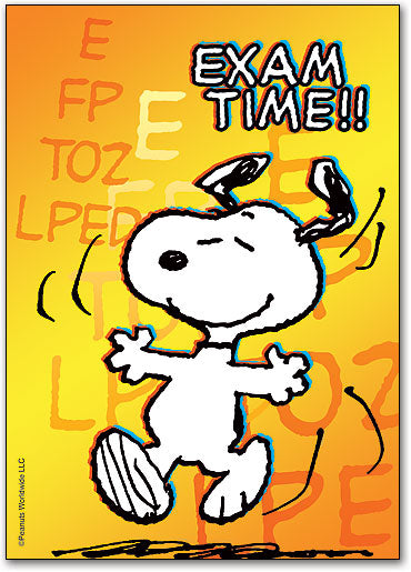 Dancing Snoopy Postcard