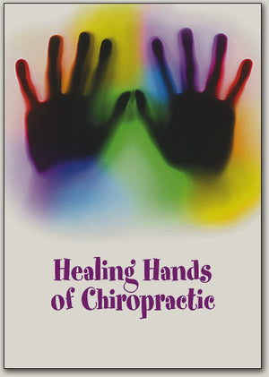 Colorful Chiro Hands Postcard