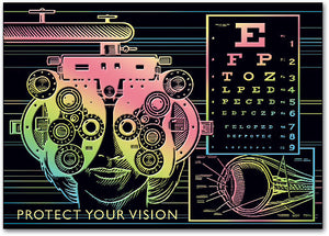 Protect Your Vision Postcard