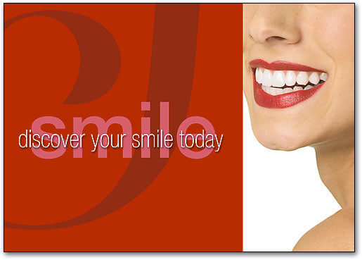 Discover Smile Postcard