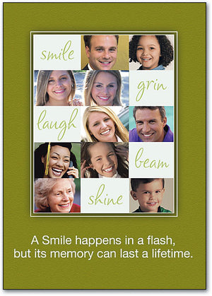 Smile Happens Postcard