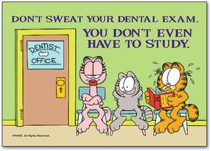 Don't Sweat Exam Standard Postcard