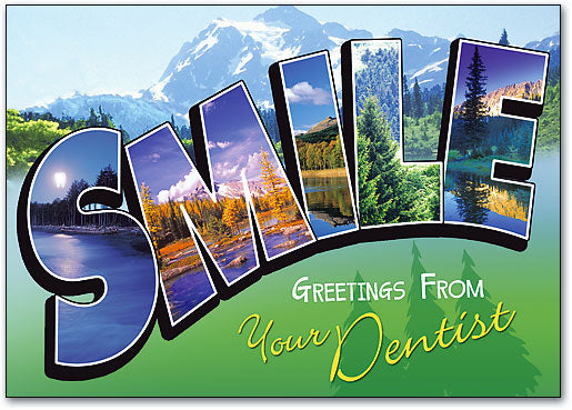 Smile Mountain Standard Postcard