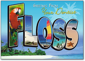Destination Floss Postcard