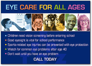 Optometry For All Postcard