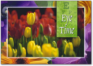 Spring Eye Time Postcard