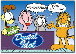 GARFIELD Dental Idol Postcard