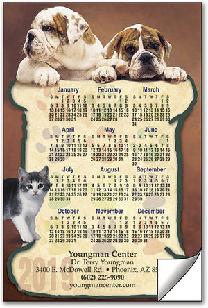Bone Paws ReStix™ Sticker Calendar