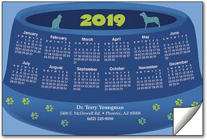 Pet Bowl ReStix™ Sticker Calendar