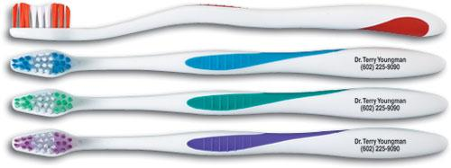 Personalised, Petite Dual Wave Adult Compact Head Toothbrush