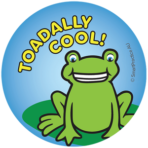 SmartPractice Australia: Toadally Cool Sticker
