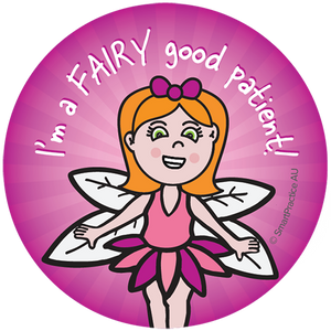SmartPractice Australia: Fairy good patient Sticker