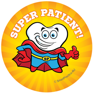 SmartPractice Australia: Super Patient Sticker