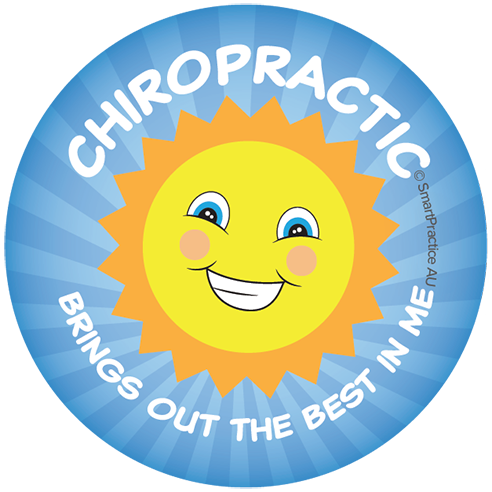Chiropractic brings out the best in me Sticker