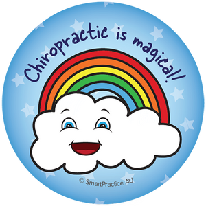 SmartPractice Australia: Chiropractic is Magical Sticker