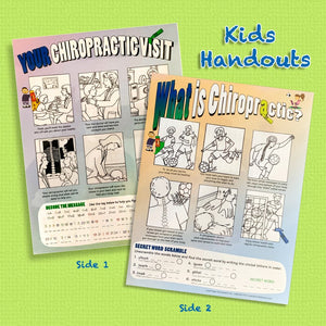 What is Chiropractic Kids Activity Sheet - KSPORT