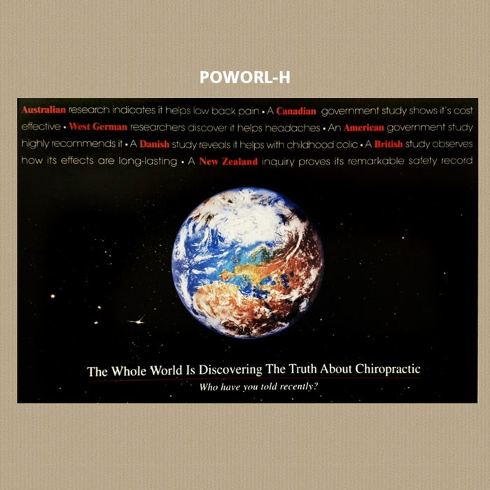 World Research Poster - POWORL