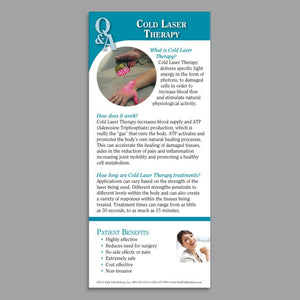 Cold Laser Therapy Cards - COLDLA