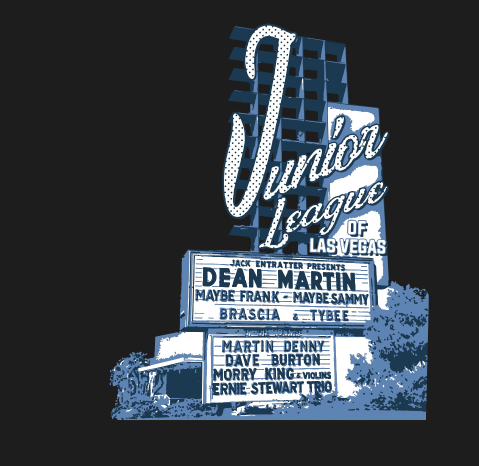 JUNIOR LEAGUE-MONDAY'S DARK BENEFIT TEE (Pre Sale) - OriginalVegas