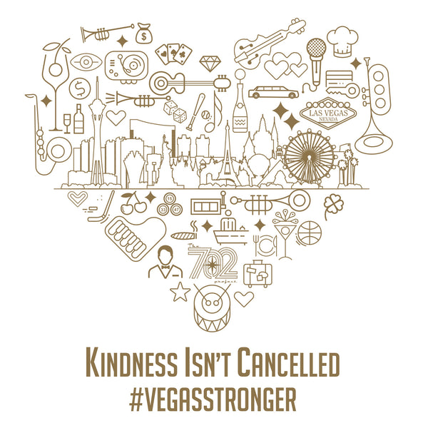 """Kindness Isn't Cancelled""- Unisex Tee - OriginalVegas"