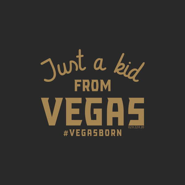 Just a Kid From Vegas T-Shirt-YOUTH (PRE-SALE) - OriginalVegas