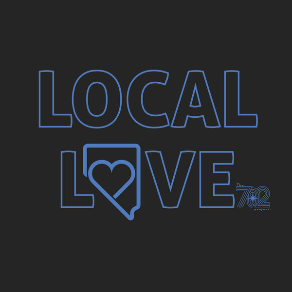 """LOCAL LOVE""-Unisex Tee - OriginalVegas"
