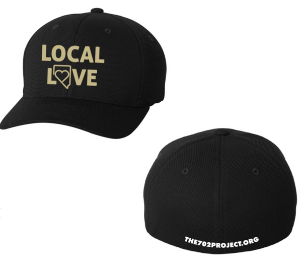 """LOCAL LOVE""- New Era Youth  Stretch Mesh Cap - OriginalVegas"