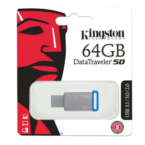 Memoria usb 2.0 3.0 3.1 64gb kingston