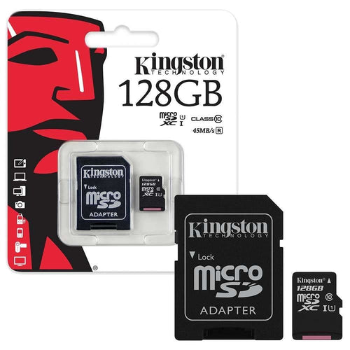 Memoria micro sd c10 128gb kingston