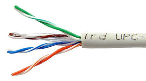 Cable utp categoria 5e blanco o gris saxxon