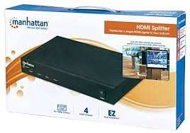 SPLITTER HDMI 4 SALIDAS MANHATTAN