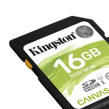 Memoria sd c10 16gb kingston