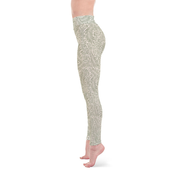 Fashion Green Design Yoga Leggings - Salthy