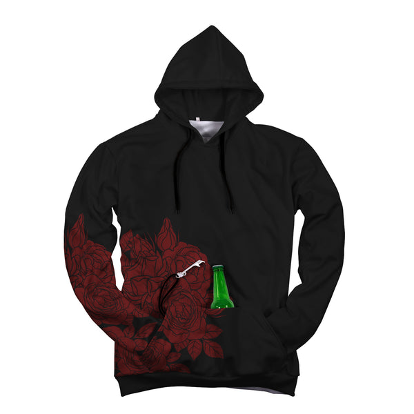"Rose Beer Hoodie ""Pop Top"""