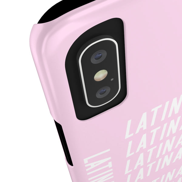 Pink Latina AF Slim Phone Cases - Salthy
