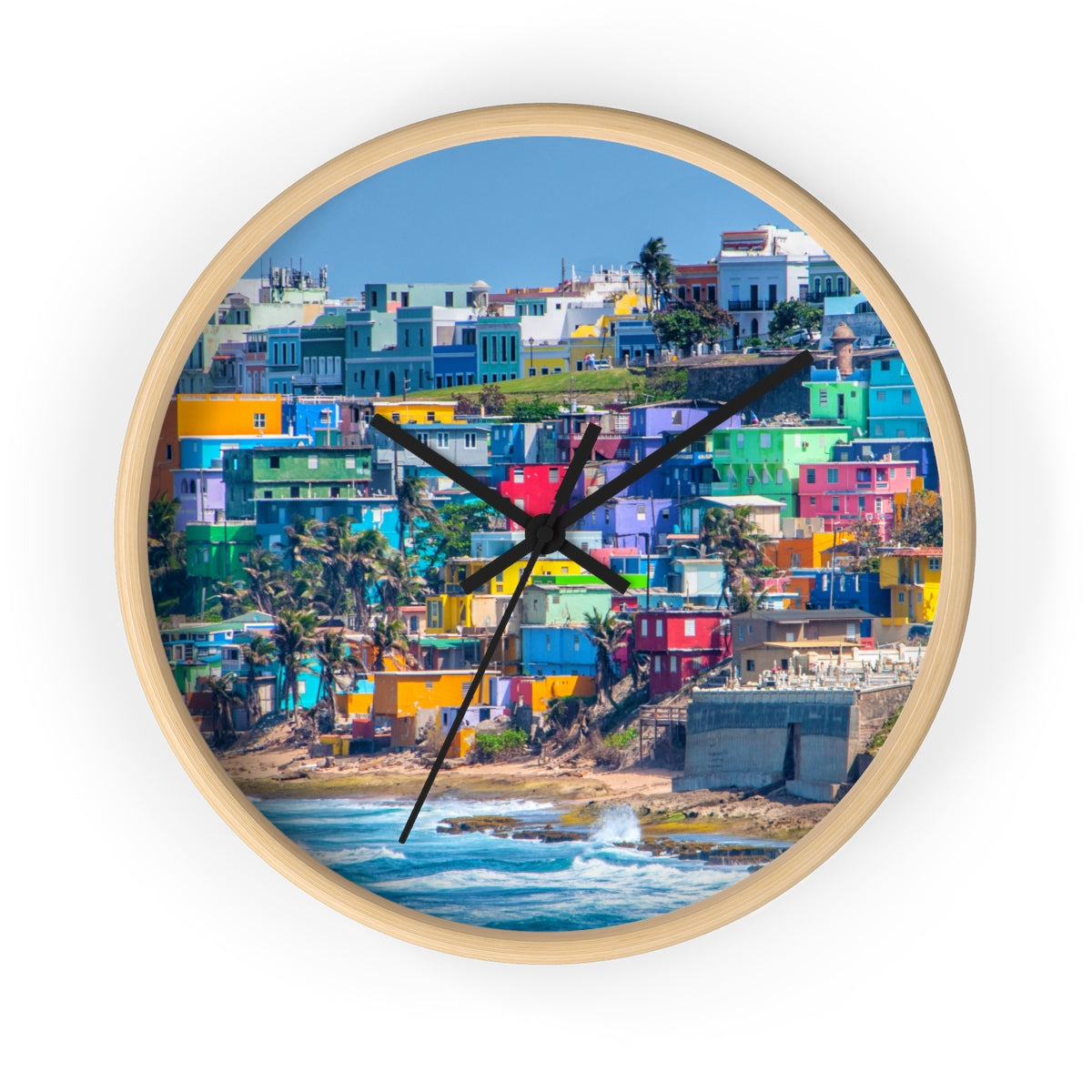 La Perla Wall clock