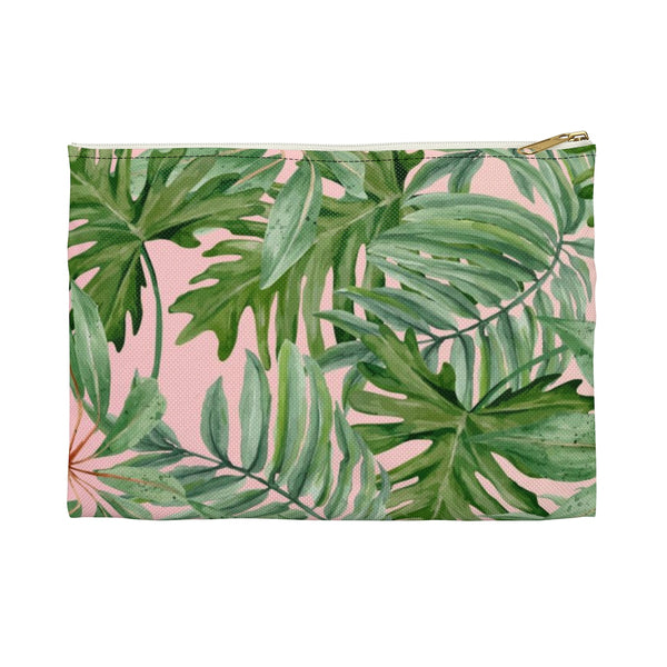Tropical Palm Accessory Pouch