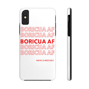 Boricua AF  Tough Phone Cases - Salthy
