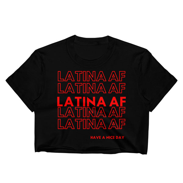 Latina AF Women's Crop Top
