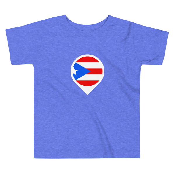 Puerto Rico Location Toddler Short Sleeve Tee