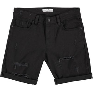 Just Junkies Mike Shorts Black Holes - Mojo Independent Store