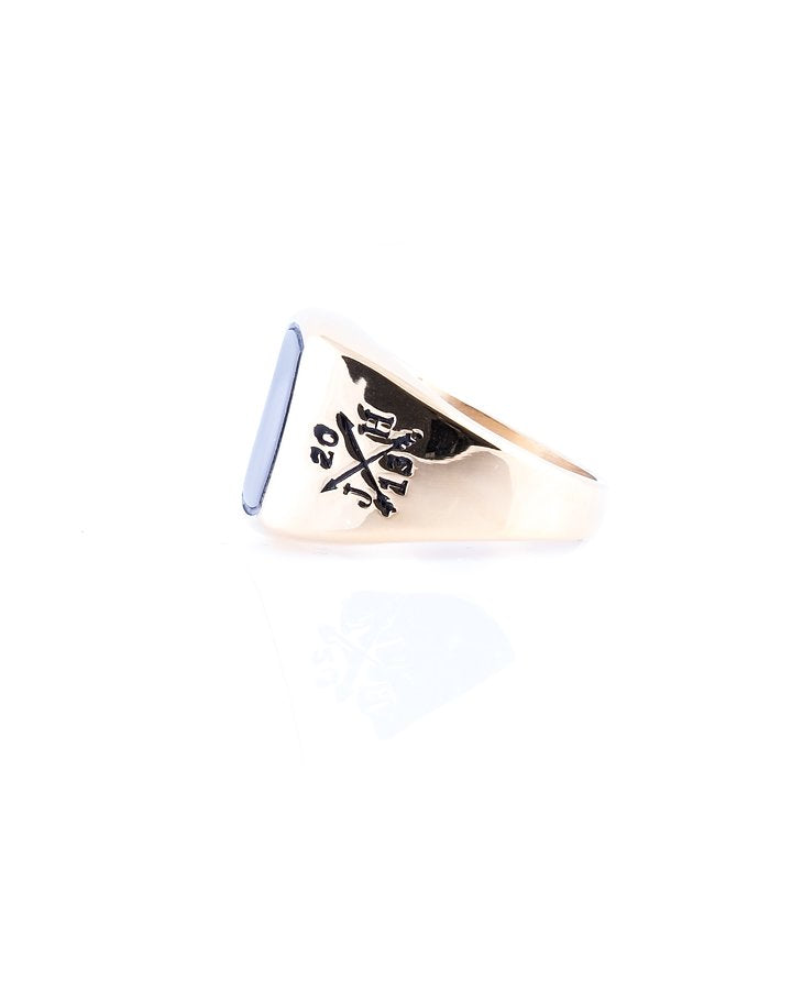 Jernhest Hannes Gold Ring - Mojo Independent Store