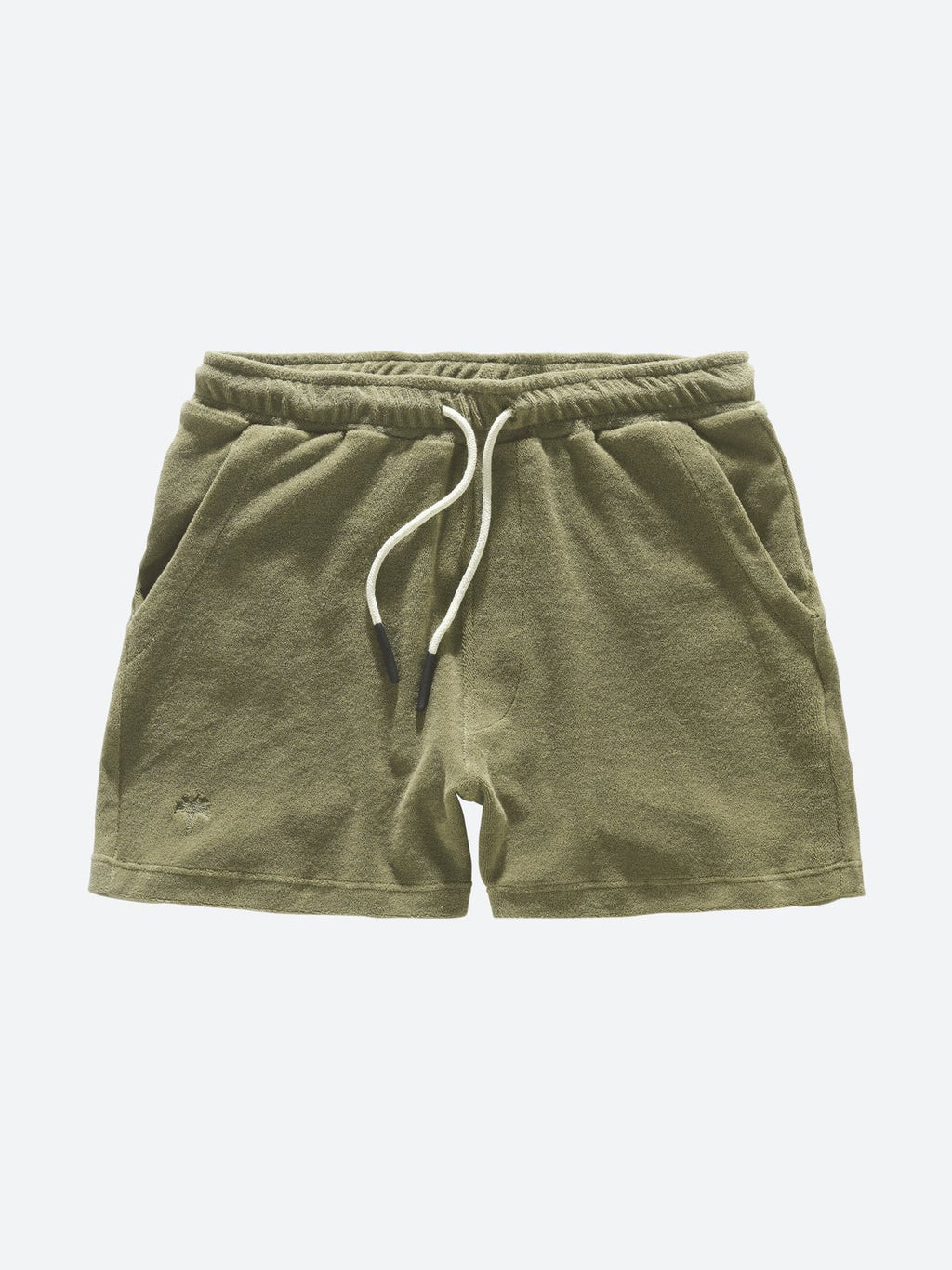 Oas Khaki Terry Shorts - Mojo Independent Store